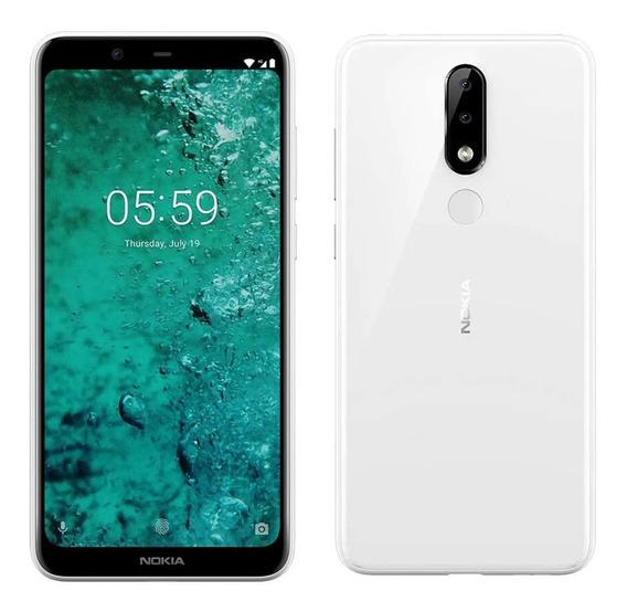 Celular Nokia 5.1 Plus Blanco