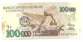 C235 - Cédula 100 Mil Cruzeiros - 100 Cruzeiros Reais 1993