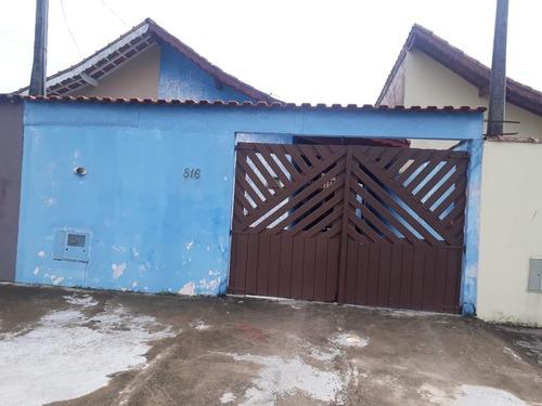 Casa Em Mongaguá R$ 180 Mil Aceita Financiamento.