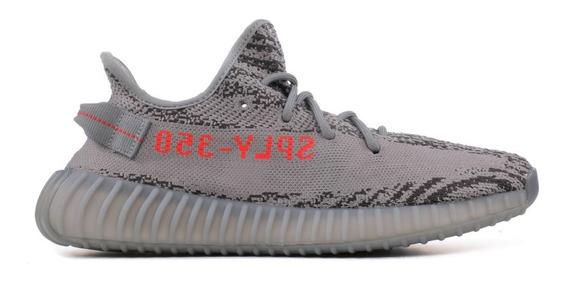 adidas Yeezy Boost Cream White Pk Envio Imediato Cx Marrom