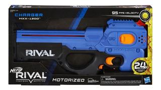 Nerf Rival Lanzador Charger Mxx-1200 Motorized Azul