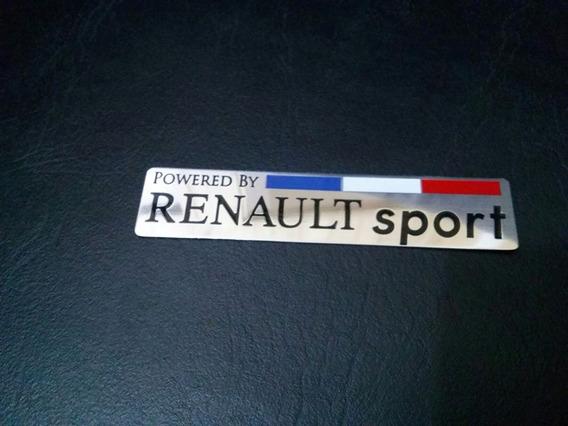 Emblema Renault Sport Clio Sandero Megane Fluence Simbol