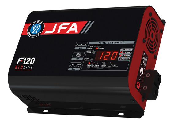 Fonte Carregador Jfa 120 Amperes Sci Red Line Digital