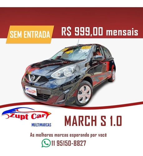 Nissan March Sem Entrada Uber 99 Pop