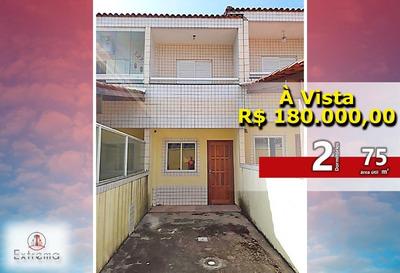 Casa De Condomínio De 2 Dormitórios - Quietude - So0018