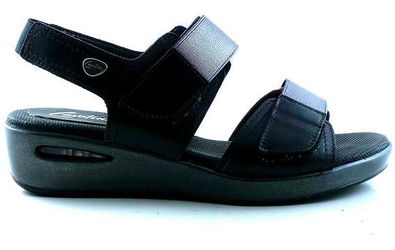 Sandalia Cuero Mujer Cavatini Zapato Confort - Mcsd04527