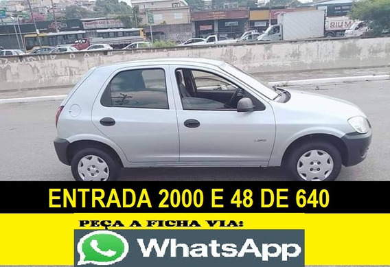 Chevrolet Celta Entrada 2000 E 48 Vezes Financiando