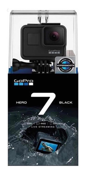 Câmera Digital Gopro Hero 7 Black 4k Wi-fi 12 Mp Original
