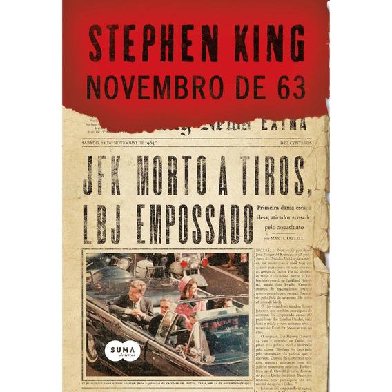 Livro - Novembro De 63 Stephen King Promoção Envio 12,00