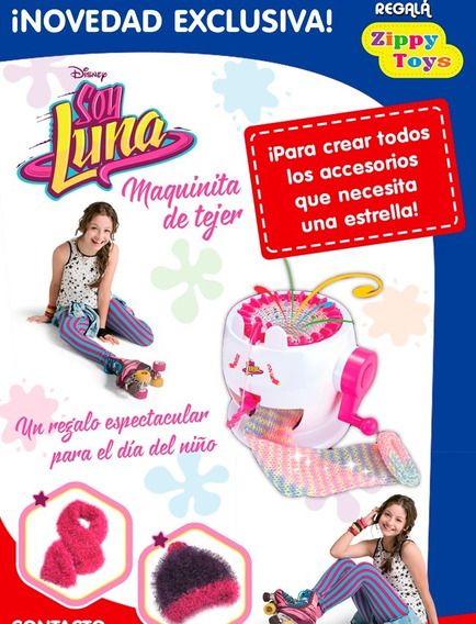 Soy Luna Maquina De Tejer Chica Original Disney