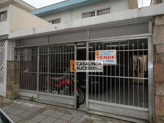 Sobrado Frontal 180m² 3 Dormts. 2 Vagas Próx. Ao Shopping Anália Franco - So0714 - So0714
