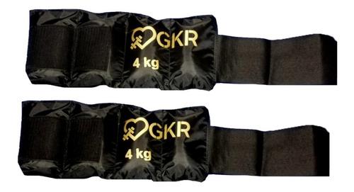 Imagen 1 de 1 de Par De Polainas De 4 Kg C/u Con Velcro