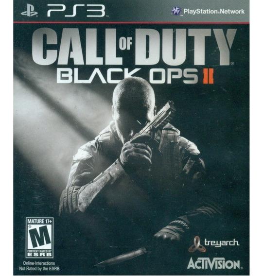 Game Play3 -call Of Duty Black Ops Ii - Semi-novo Jogo Ps3