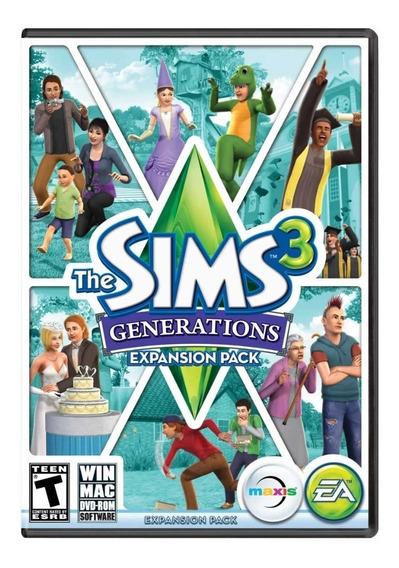 The Sims 3 Gerações Origin Key - Codigo Para Download Expan