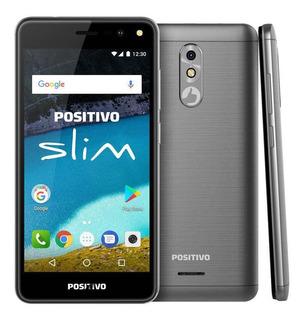 Positivo Slim S510 Dual Sim 8 Gb Cinza 1 Gb Ram