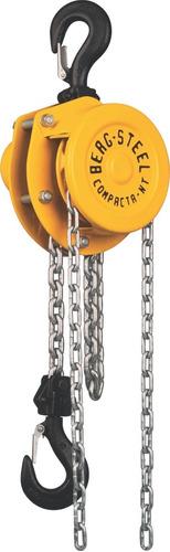 Imagem 1 de 1 de Talha Manual Nt Capacidade 500kg C/ 5 M Elevação Berg-steel