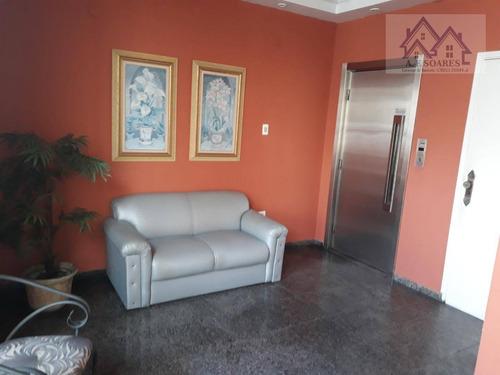 Apartamento Em Pompéia, Santos/sp De 220m² 3 Quartos À Venda Por R$ 800.000,00 - Ap915390