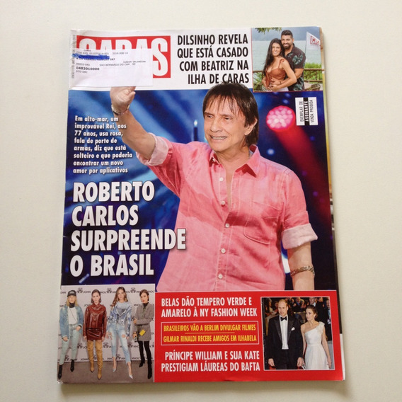 Revista Caras Roberto Carlos Dinilson Beatriz Beyónce C90