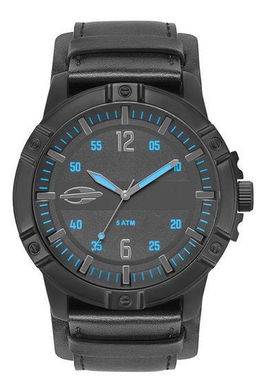 Relógio Mormaii Steel Basic Masculino Preto Mo2036ir/2a