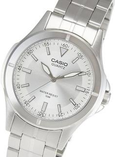 Reloj Hombre Casio Cod: Mtp-1214a-7a Acero Sumergible