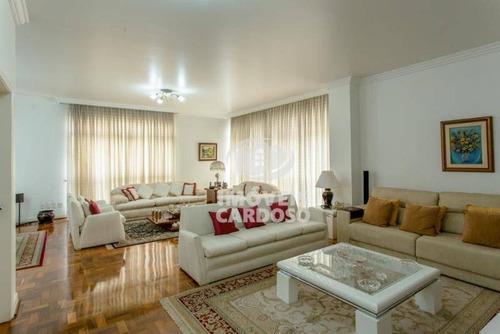 Imagem 1 de 10 de Apartamento Com 3 Dormitórios À Venda, 243 M² Por R$ 2.600.000 - Higienópolis - São Paulo/sp - Ap0628