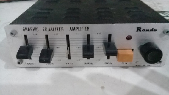 Ecualizador Amplificador Marca Rondo Vitageo Made Japan