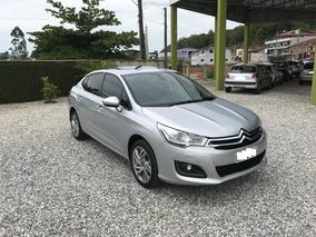Citroën C4 2014 Lounge 1.6 Exclusive 16v Turbo Gasolina 4p