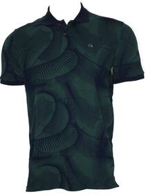 Camisa Ogochi Masculina Verde 007418021