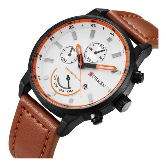 Promoção Relógio Masculino Original Curren 8217