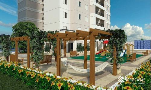 Apartamento À Venda, 96 M² Por R$ 610.000,00 - Condominio Residencial Montpellier - Sorocaba/sp - Ap1213