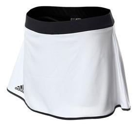 Falda Para Tenis adidas Climalite Mujer De Tenis Blanco / Ne