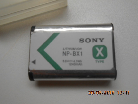 Bateria Sony X Np-bx1 Frx1 Rx100 Hx300 Wx300 As15 Dsc-rx100