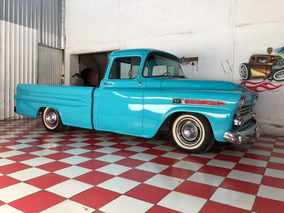 Chevrolet Apache 1959 Big Window Fleet Side