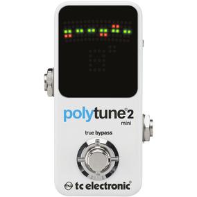 Pedal Afinador Tc Electronic Polytune 2 Mini - Polifônico -