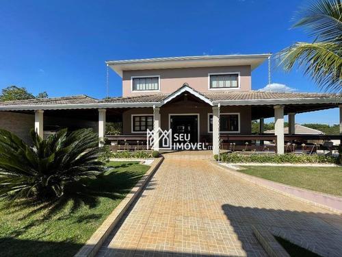 Imagem 1 de 30 de Casa Com 4 Dormitórios À Venda, 650 M² Por R$ 2.300.000,00 - Nova Rheata - Boituva/sp - Ca2203
