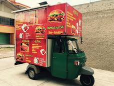 Motocarro Piaggo Ape 350 Diesel Convertida Food Truck