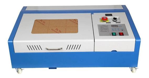 Maquina Laser Co2 40w B | Cnc Usb | Cortadora Grabadora 3020