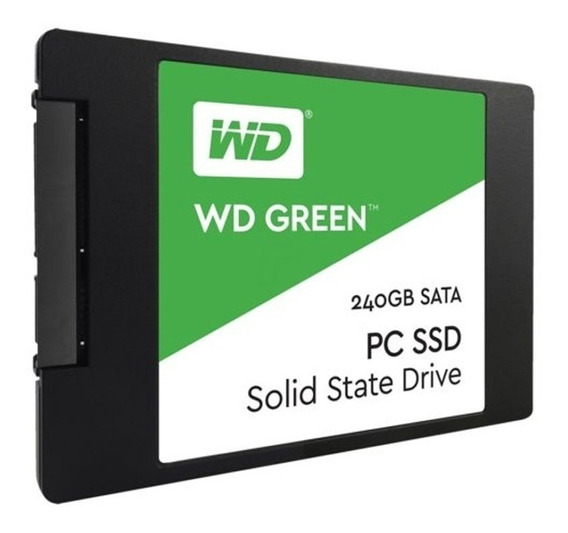 Disco Interno Ssd Wd 240 Gb Green Sata Solido Envio Full