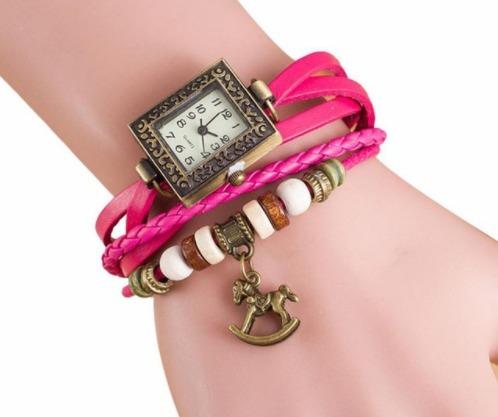 Relógio De Quartzo Para Mulheres Pulseira Elegante