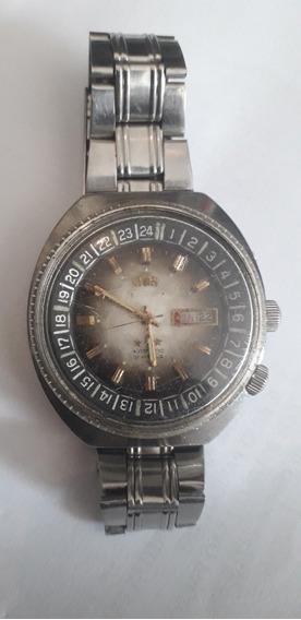 Relógio Antigo Automático Orient King Diver Três Chaves Raro