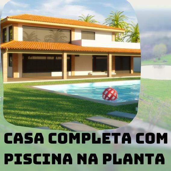 12 Casa Com Piscina