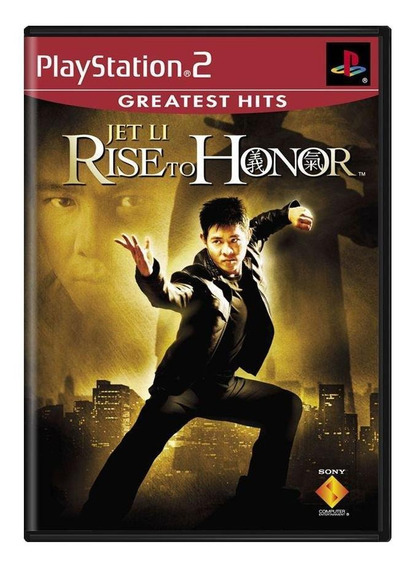 Jet Li Rise To Honor Ps2 Mídia Física Pronta Entrega