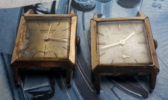 Dois Relógios Robert Cart Corda Manual
