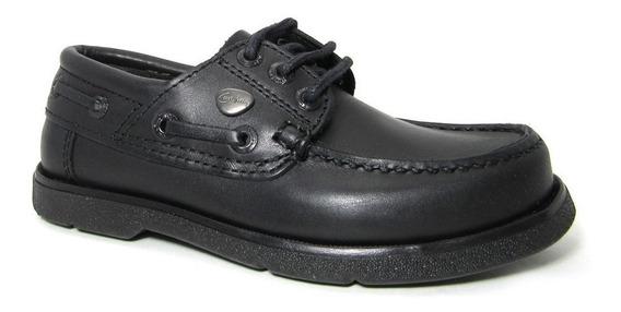 Zapato Cavatini Náutico Acordonado Colegial