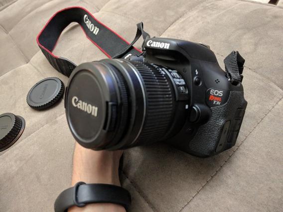 Câmera Dslr T3i/600d - 3288 Cliques
