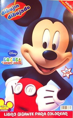 Imagen 1 de 1 de Revista Disney Colorea Mickey Mouse