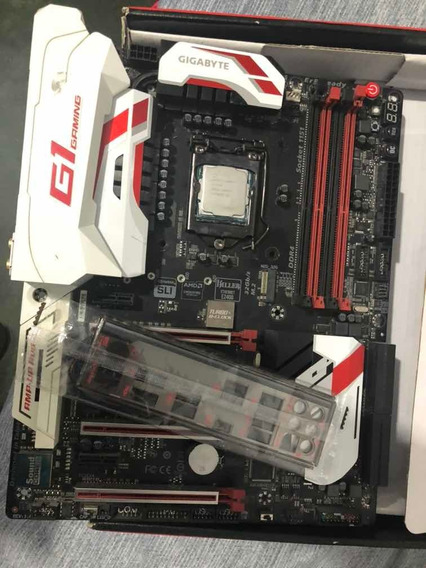 Kit I5 7600 Placa Mae Z170x Gaming7