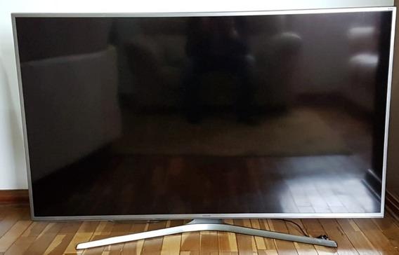 Tv Samsung Un60js7200 Vendo Ou Troco Tela Quebrada
