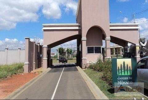 Terreno À Venda, 250 M² Por R$ 160.000,00 - Condomínio Jardim De Mônaco - Hortolândia/sp - Te0754