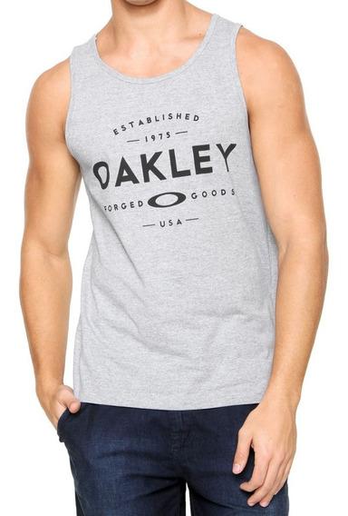 Oakley Musculosa Tank Gris